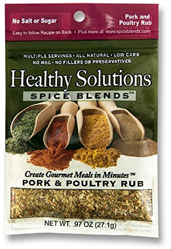 Healthy Solutions Spice Blends Pork & Poultry Rub
