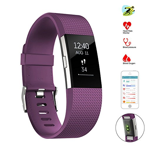 Sports Fitness Counter Pulse Heart Rate Monitor Watch - 5