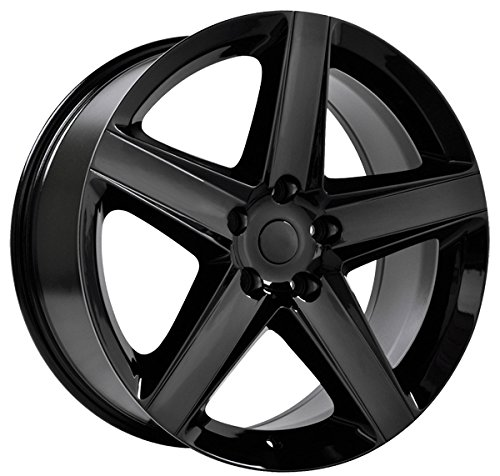 Replica 129B Jeep SRT8 20×9 5×127 +34mm Gloss Black Wheel Rim