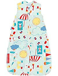 Travel Baby Sleeping Bag - Beside the Sea 0.5 Tog (0-6 Months)