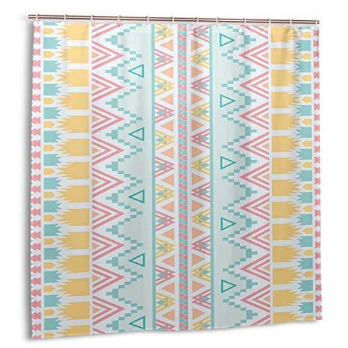 GAGH Shower Curtain Wallpaper Emoji with Plastic Hooks Bath Curtain 48 x 72 Inch for Bathroom ()