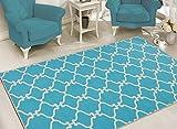 Sweet Home Stores Clifton Collection Moroccan Trellis Design  Area Rug,...