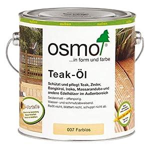 Osmo – Olio per legno teak, incolore, 007, 2,5 litri 8 spesavip