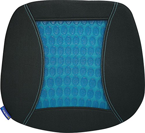 Kraco Ergo-Drive Car and Wheelchair Posterior Gel Comfort Orthopedic Tailbone Seat Pillow Cushion for Sciatica, Lower Back, and Tailbone Pain - Ergo Seat