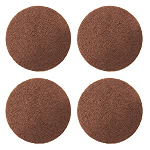 "Scrubber Scuffing Cleaning Pads For Makita 5"" Sander BO5041K BO5030 LXOB01Z Random Orbit 5-inch, 4-Pack Set"