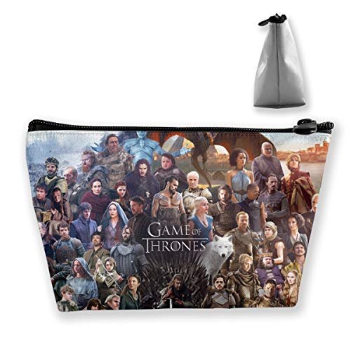 Game Of Thrones Gta Poster Toiletry Bag Cosmetic Makeup Travel Storage Bag With Zipper