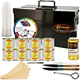 pinstriping tool - One Shot Automotive Complete Striper Pinstriping Starter Kit - 8 Colors