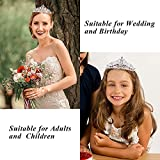 Didder Crystal AB Rhinestones Tiaras and Crowns for