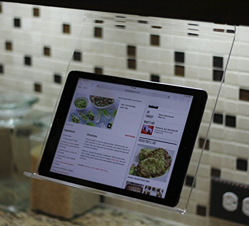 The Original Patented Kitchen IPad Rack / Holder For All IPads, Tablet PCu0027s  And Cookbooks