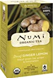 Numi Organic Tea Decaf Ginger Lemon, 16 Non-Gmo Tea Bags For Sale