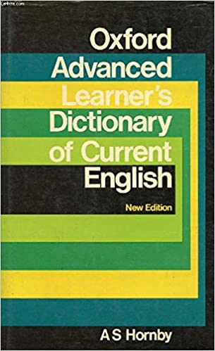 Advanced Learners Oxford Dictionary Pdf