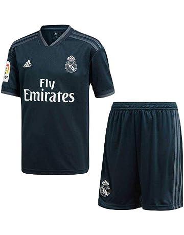 3f96534bd880e adidas 18 19 Real Madrid Away Kit-Lfp Badge Conjunto