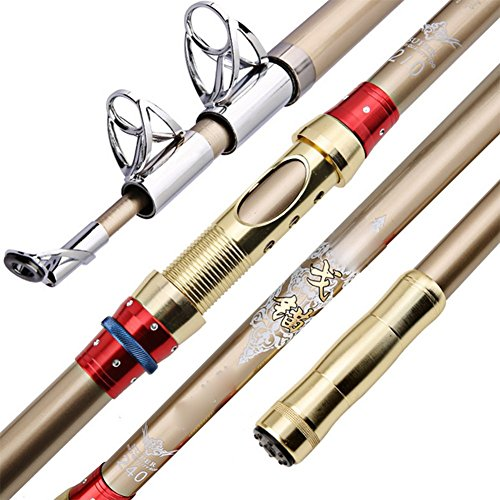 Full 90 Outdoor Fishing Rod, Ultra-Light Telescopic Rod Carbon Fiber Far Thrown Fishing Rod