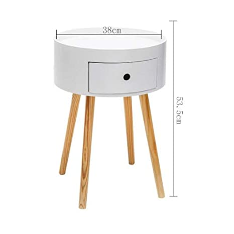Swell Amazon Com End Side Tables Sofa Table Solid Wood Round Pdpeps Interior Chair Design Pdpepsorg