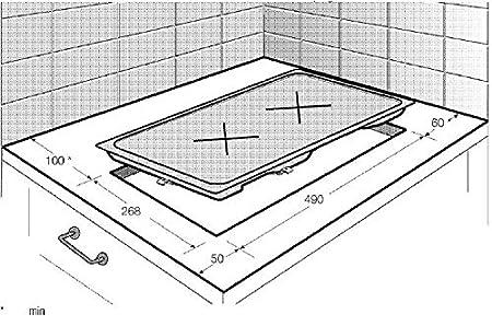 Beko HDMC 32400 TX - Placa Modular Hdmc32400Tx Con 2 Zonas Vitrocerámicas