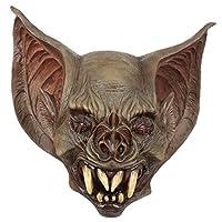 Ghoulish Productions Creepy Bat Creature Adult Latex Mask Dracula Vampire Halloween Costume Accessory