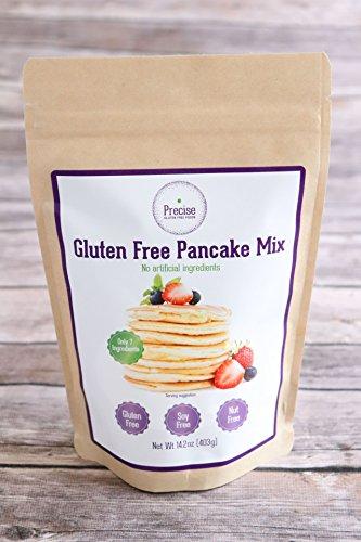 Gluten Free Pancake & Waffle Mix - Precise Gluten Free - Nut free - Soy Free - Dairy - Free And Gluten Dairy Pancake Mix