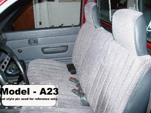 A23 Toyota Pickup 1984 1989 Front Solid Bench Premium