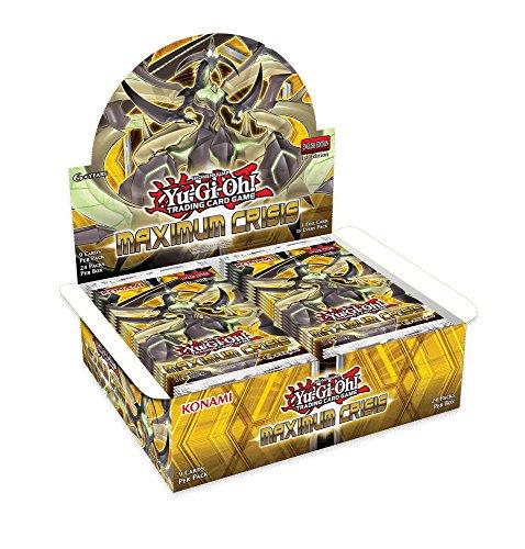 Yu-Gi-Oh! TCG Maximum Crisis Booster Box (24 Booster Packs)