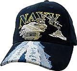 U.S. Navy Aircraft Carrier Ball Cap,Blue,Standard
