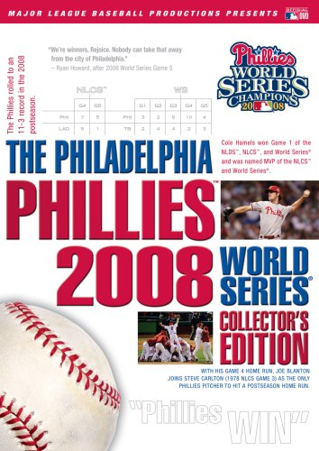 The Philadelphia Phillies 2008 World Series Collector's Edition by A&E