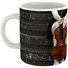 Westlake Art - Stairway String - 11oz Coffee Cup Mug - Modern Picture Photography Artwork Home Office Birthday Gift - 11 Ounce (6FD0-FD9CB)
