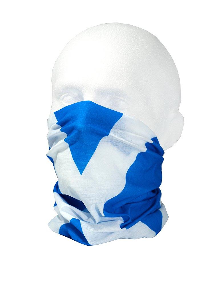 bandiera della Scozia Scaldacollo multifunzionale RUFFNEK per uomo taglia unica Scaldacollo scozzese donna e bambino