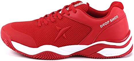 DROP SHOT Zapatilla Sweet Red Talla 38, Adultos Unisex, 0 ...
