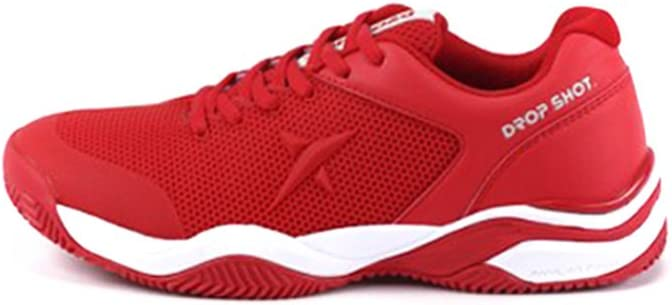 DROP SHOT Zapatilla Sweet Red Talla 38, Adultos Unisex, 0: Amazon ...