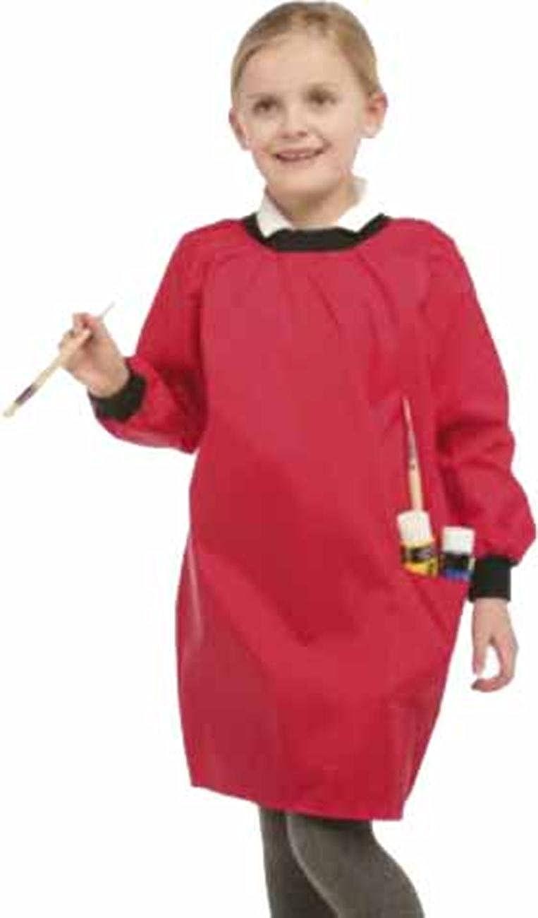 Enfants Piscine Peinture Cuisinière Blouse Apron couche de PU Facile Wipe Paquet de 2 OS