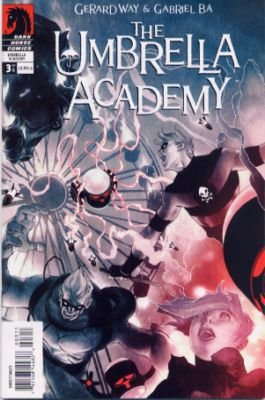 My Chemical Romance's Gerard Way presents The Umbrella Academy featuring The Murder Magician (FCBD Edition - Dark Horse Comics)