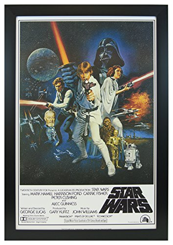 Star Wars A New Hope 24x36 Framed Poster
