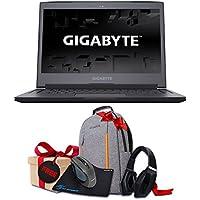 GIGABYTE Aero 14Wv7-OG4 14 VR Ready QHD Gaming Laptop Core i7 7700HQ 2.8GHz GTX 1060 16GB RAM 512GB SSD Win10 (Orange) + Gaming Bundle