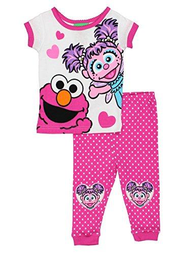 Sesame Street Girls Pajamas Toddler
