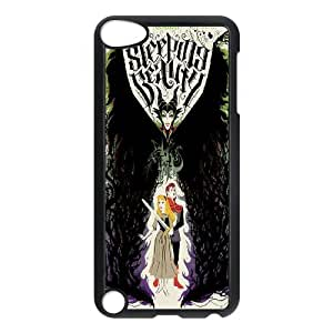 FOR Ipod Touch 5 -(DXJ PHONE CASE)-Sleeping Beauty-Maleficient-PATTERN 19