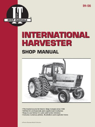International Harvester Shop Manual Series 5088 5288 & 5488 (I & T Shop Service Manuals)