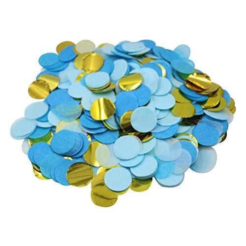 Mybbshower-Metallic-Gold-Blue-Paper-Circles-Birthday-Party-Confetti-5000-Plus