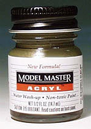 Model Master Model Master Acrylic Gloss Italian Red 1:0 Scale ()