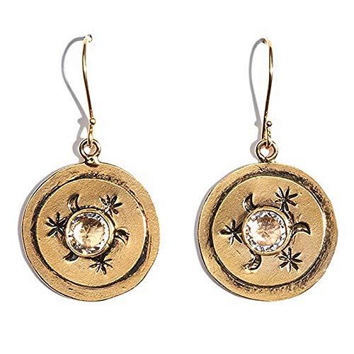 - Petite Mother Goddess Earrings - Gold - VSA - Virgins Saints Angels Jewelry