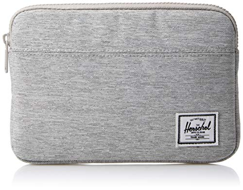 Herschel Supply Co. Men's Anchor Sleeve for iPad Mini, light grey crosshatch, One Size