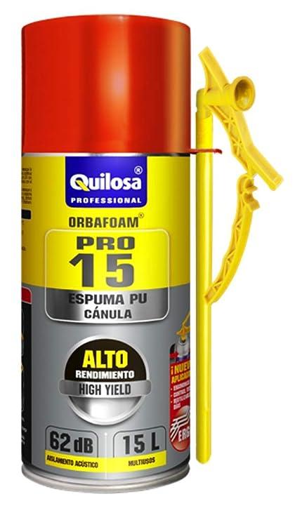Espuma expansiva de poliuretano 570 ml aplicación Manual con boquilla