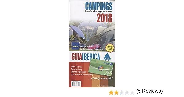 Guía Ibérica Camping 2018 España, Portugal y Andorra: Amazon ...