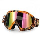 Motocross Goggles Glasses Motorcycle Goggle Off Road Dirt Bike MDL0903 (Orange)