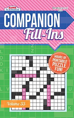 Companion Fill-Ins Puzzle Book-Volume 33