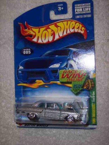 (2002 Treasure Hunt #5 Ford Thunderbolt #2002-5 Collectible Collector Car Mattel Hot Wheels)