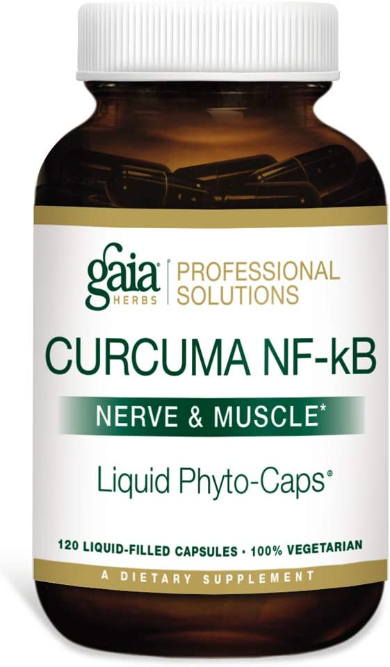 Gaia Herbs Professional Solutions Curcuma NF-kB Nerve and Muscle 120 caps
