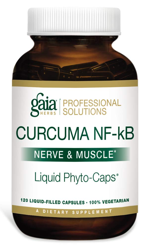 Gaia Herbs (Professional Solutions) Curcuma NF-kB: Nerve and Muscle 120 caps