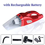 Smileto Car Vacuum Cleaner Family Car Dual Use Vacuum Cleaner DC...