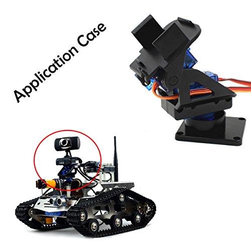 2-Axis FPV Camera Cradle Head W/ 9g Dual Servo/Steering Gear for Robot/R/C Car Electronics Accessories