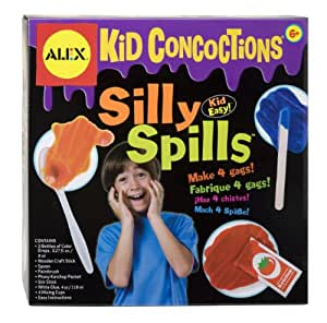ALEX Toys Kid Concoctions Silly Spill Science Kit